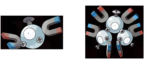 Magnemite y magneton