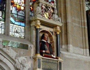 Monumento funerario de Shakespeare