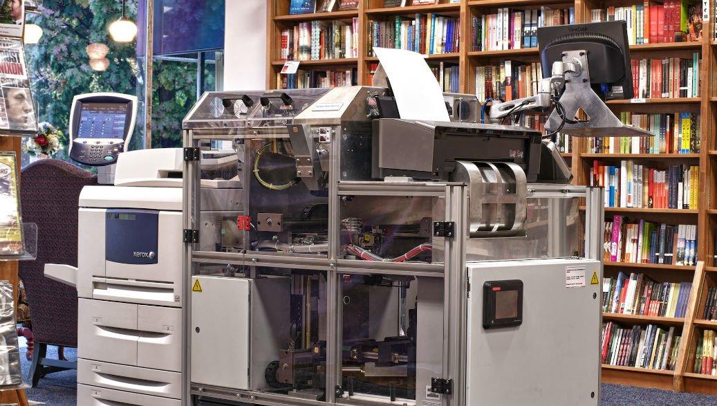 La Espresso Book Machine
