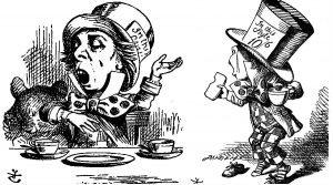 Sombrerero Loco ilustrado por John Tenniel
