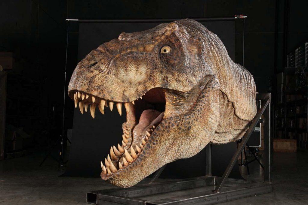 cabeza t-rex