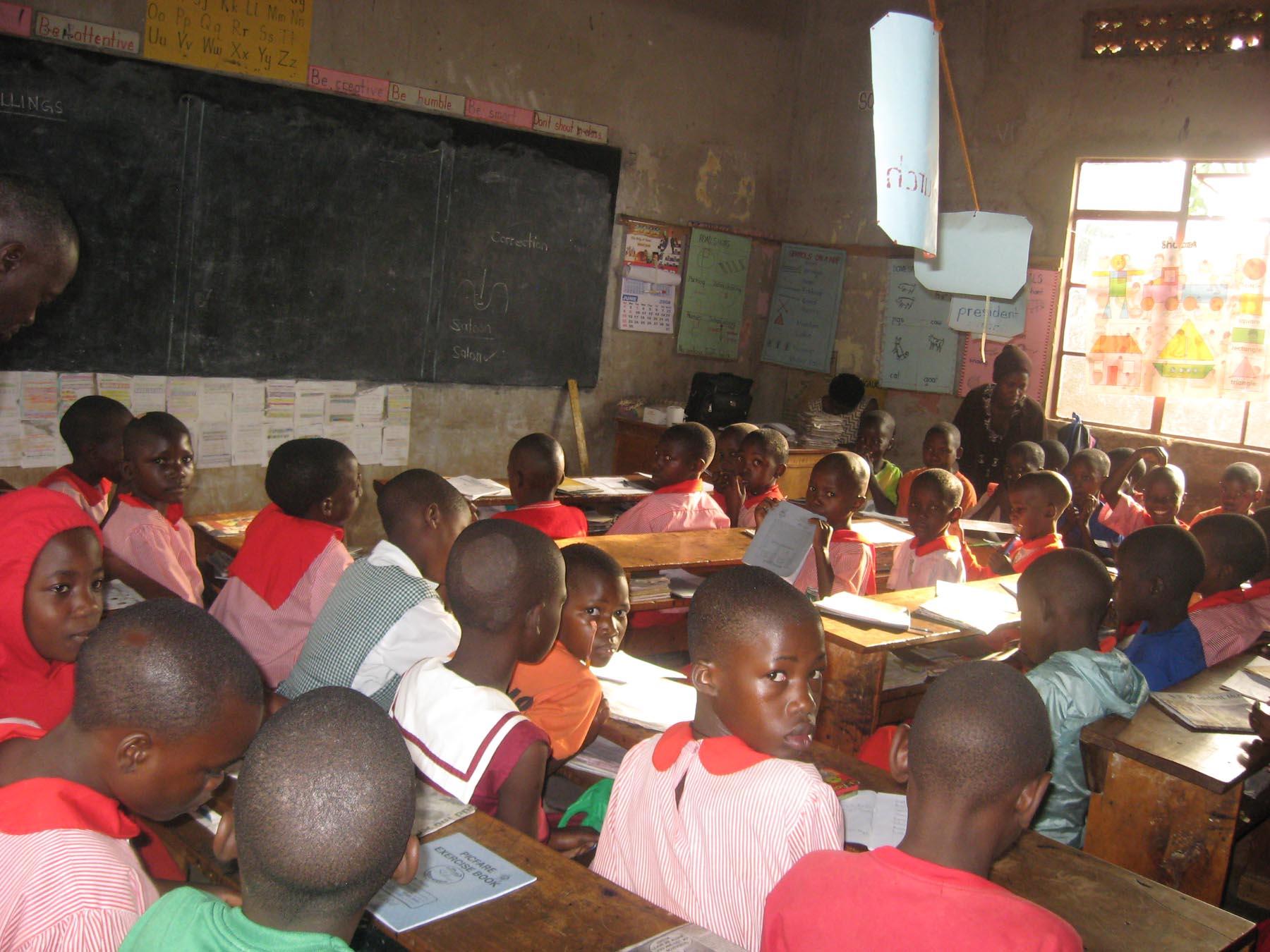 Escuela en Uganda