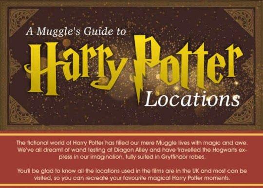 Una guía de viajes de muggles para visitar lugares de Harry Potter