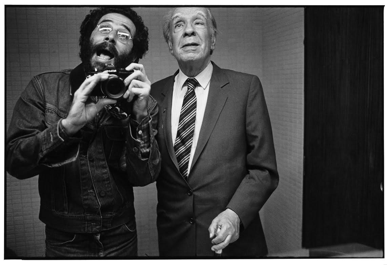 Jorge Luis Borges. Caracas, 1982