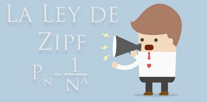 ley de zipf