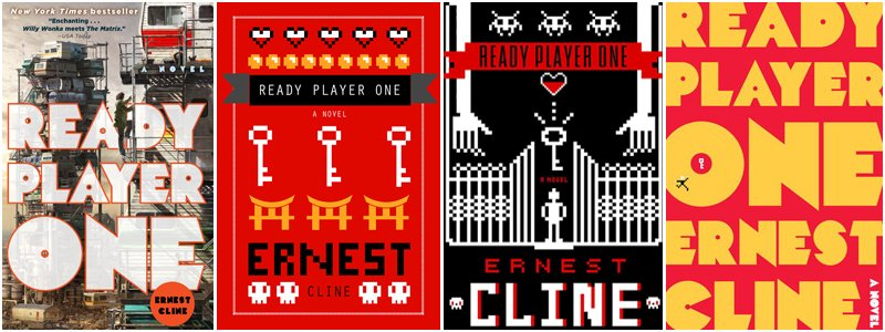 2. Algunas portadas de Ready Player One