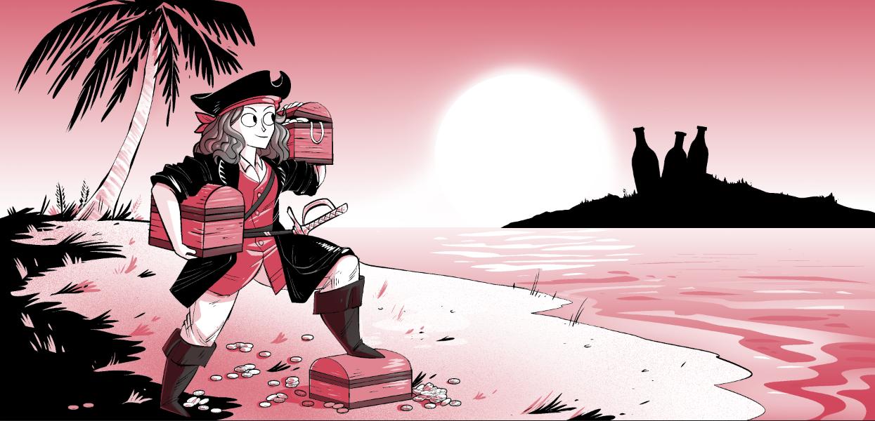 Julieta en una historia de piratas