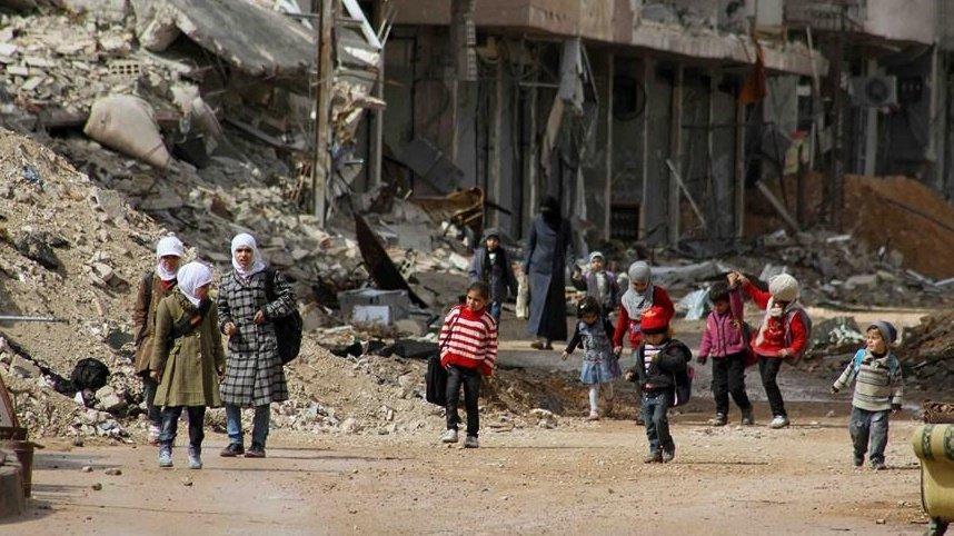 La situación en Daraya es lamentable