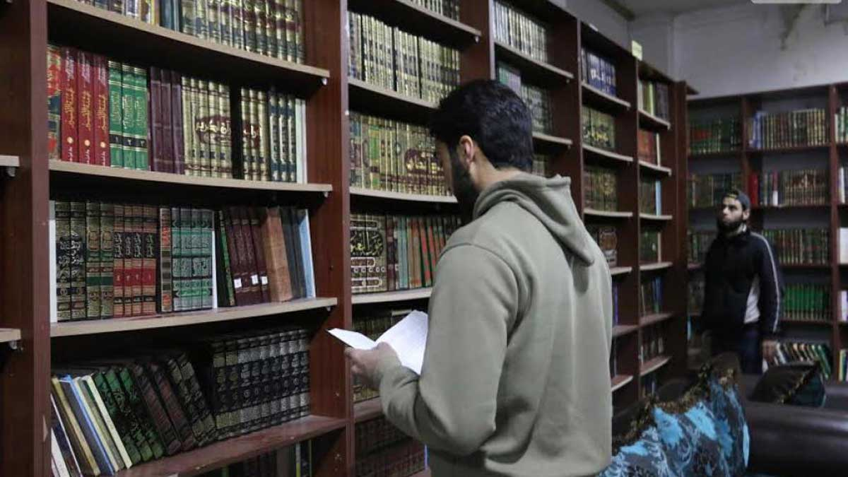 La biblioteca secreta de Daraya