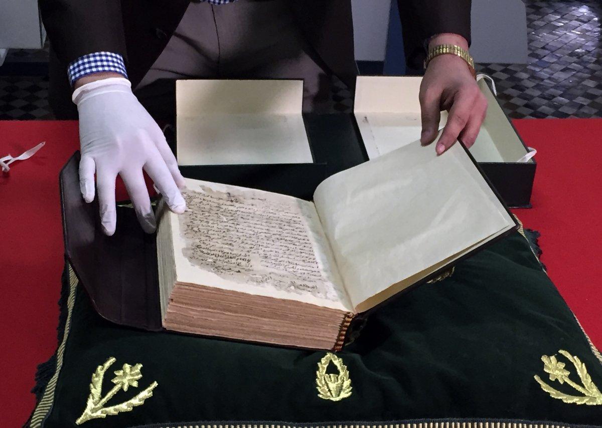 Texto del siglo XIV del historiador magrebí Ibn Jaldún