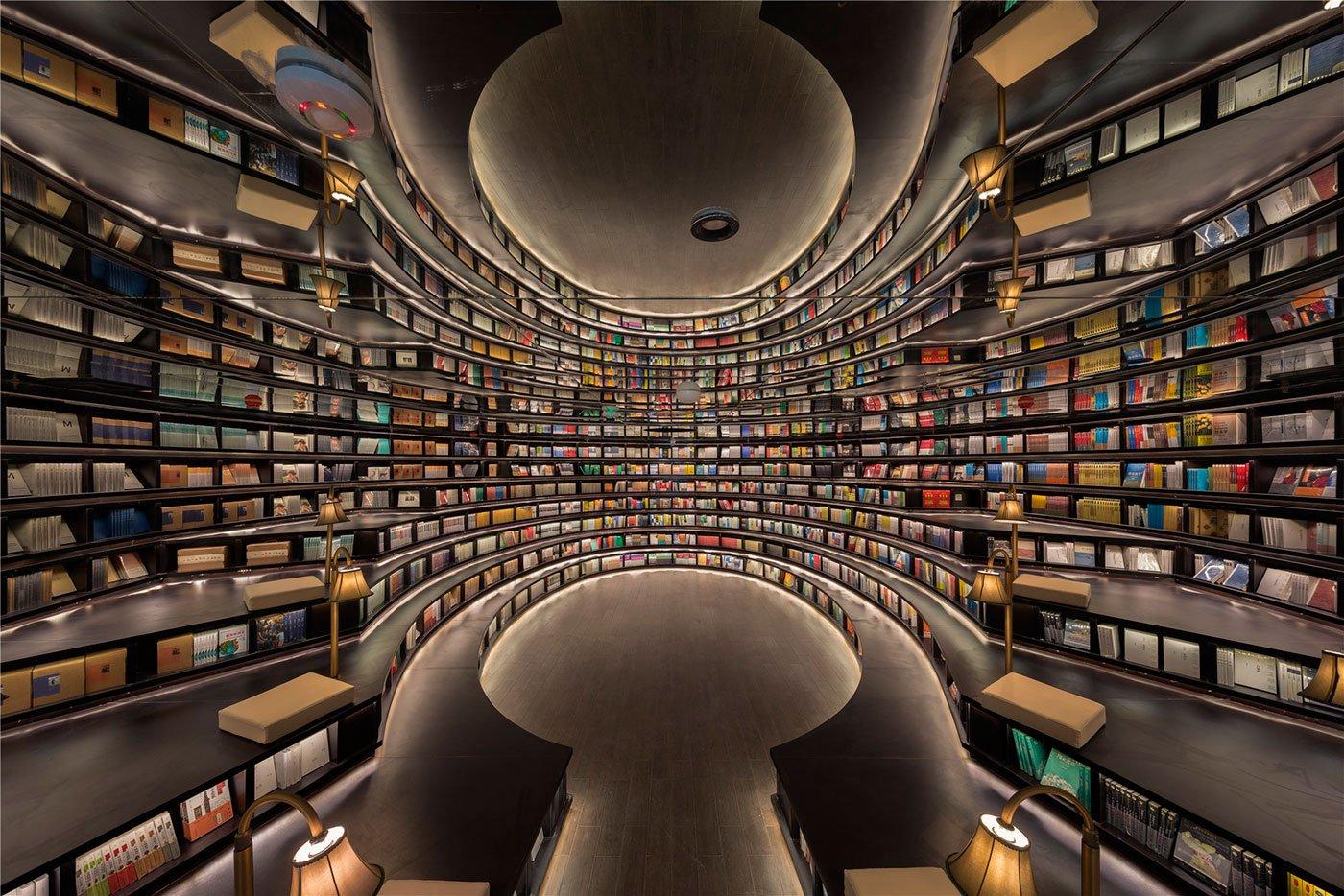 Librería de Zhongsuhge Hangzhou por XL-MUSE. Fotografía © Shao Feng