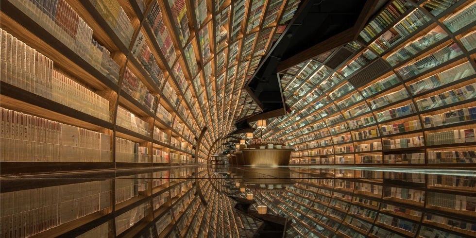 Librería Yangzhou Zhongshuge. Foto de XL-Muse