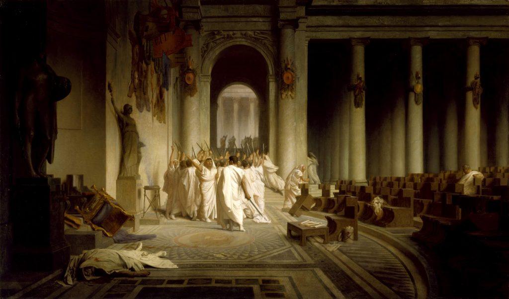 asesinato de Julio César el año más largo de la historia