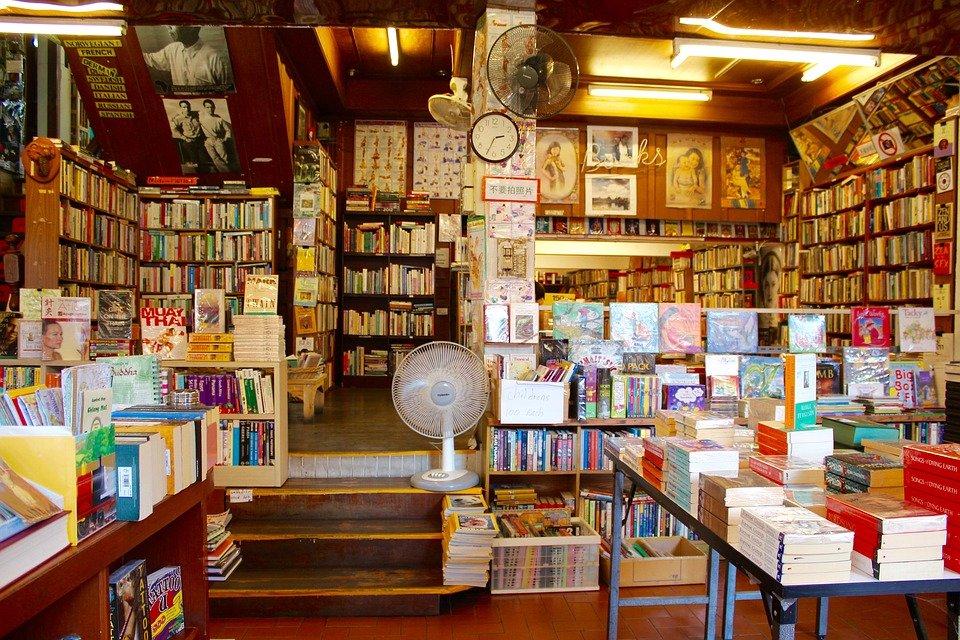 librería tradicional