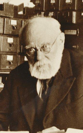 Paul Otlet en 1937