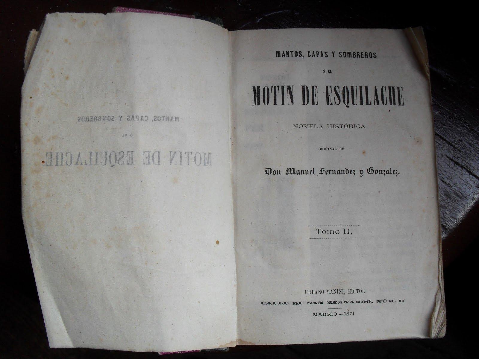 Una de las novelas de Manuel Fernández y González