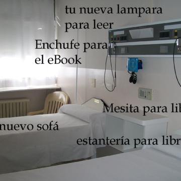 leer-en-un-hospital