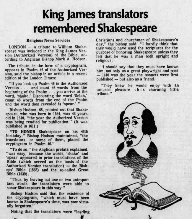 Otro recorte de prensa, del Arizona Republic, del 15 de mayo de 1976