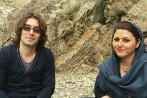 Arash Sadeghi y Golrokh Ebrahimi