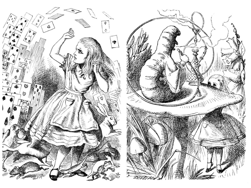 Ilustración originales de Sir John Tenniel