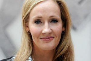 La escritora J.K.Rowling