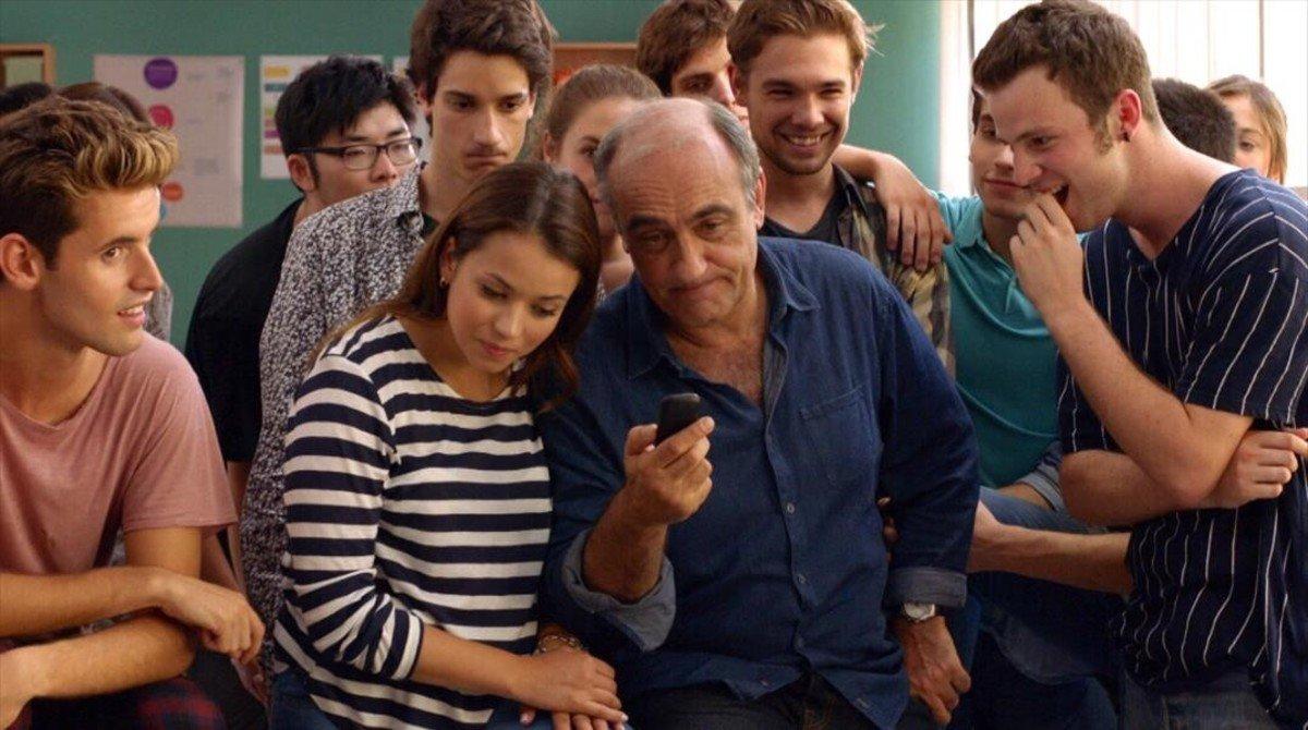 La serie Merlí, emitida por TV3 y LaSexta. Fuente: El Periódico.
