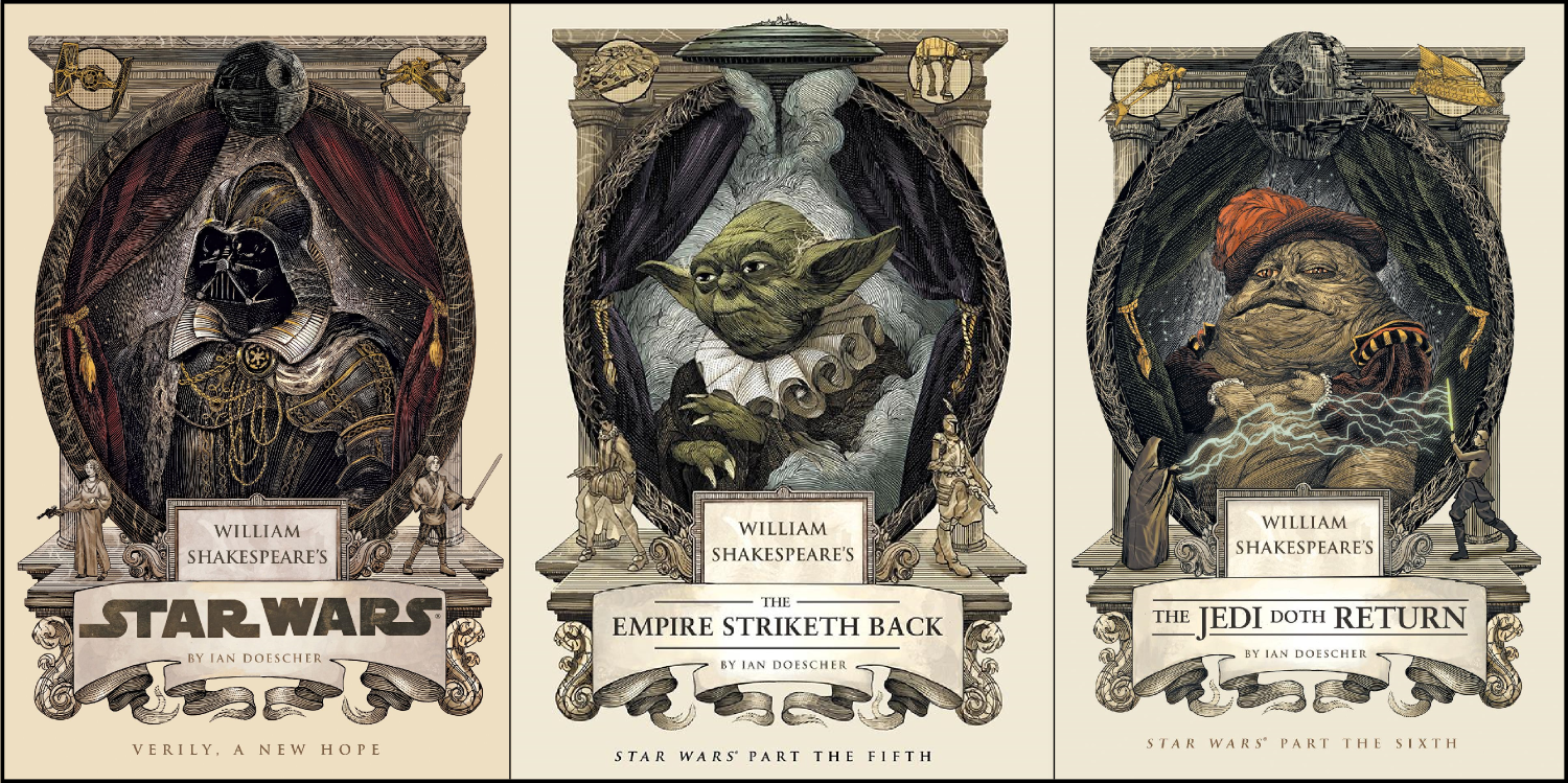 Trilogía de Star Wars, por William Shakespeare