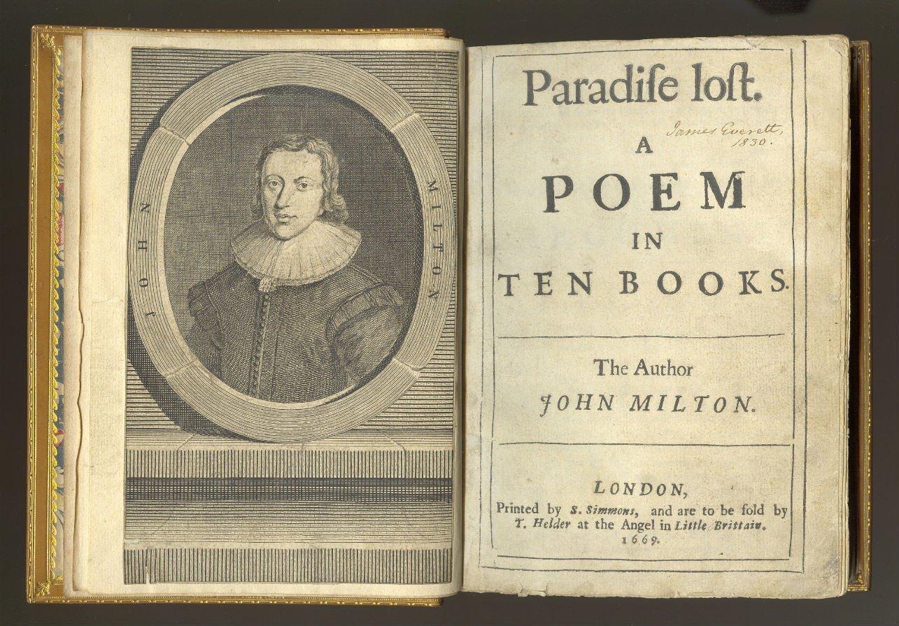 El paraíso perdido de John Milton