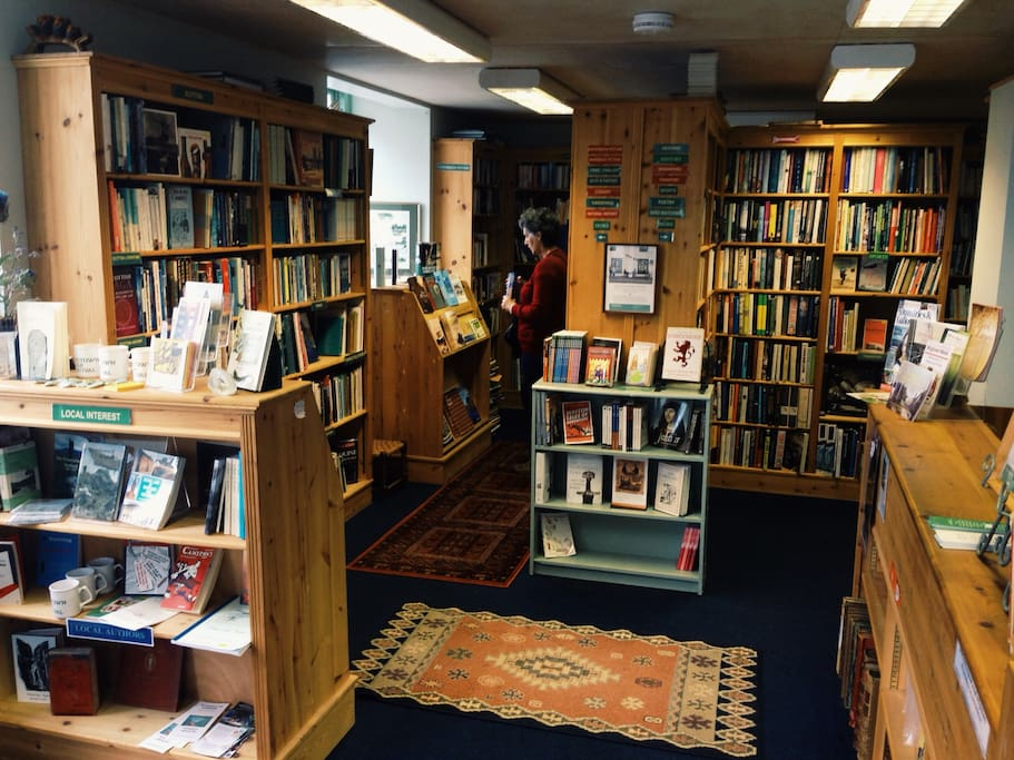 Interior de The Open Book