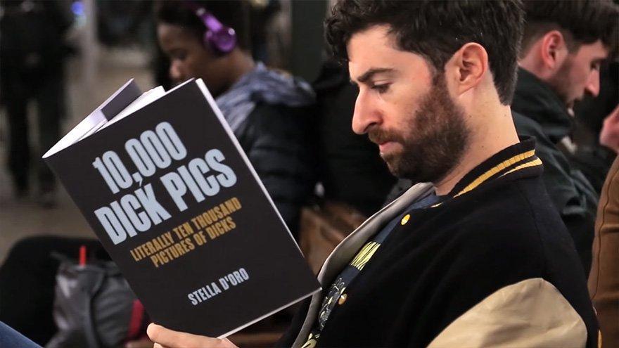Scott Rogowsky leyendo 10.000 imágenes de penes
