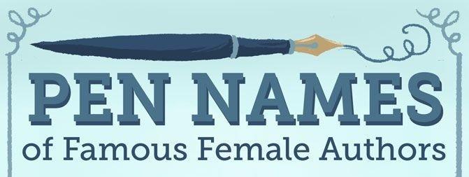 14 escritoras que usaron seudónimos de hombre para publicar