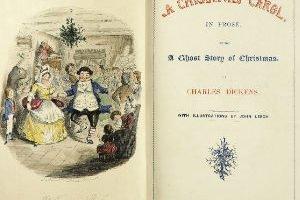 Primera edición de Cuento de Navidad