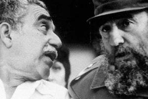 Gabriel García Márquez y Fidel Castro