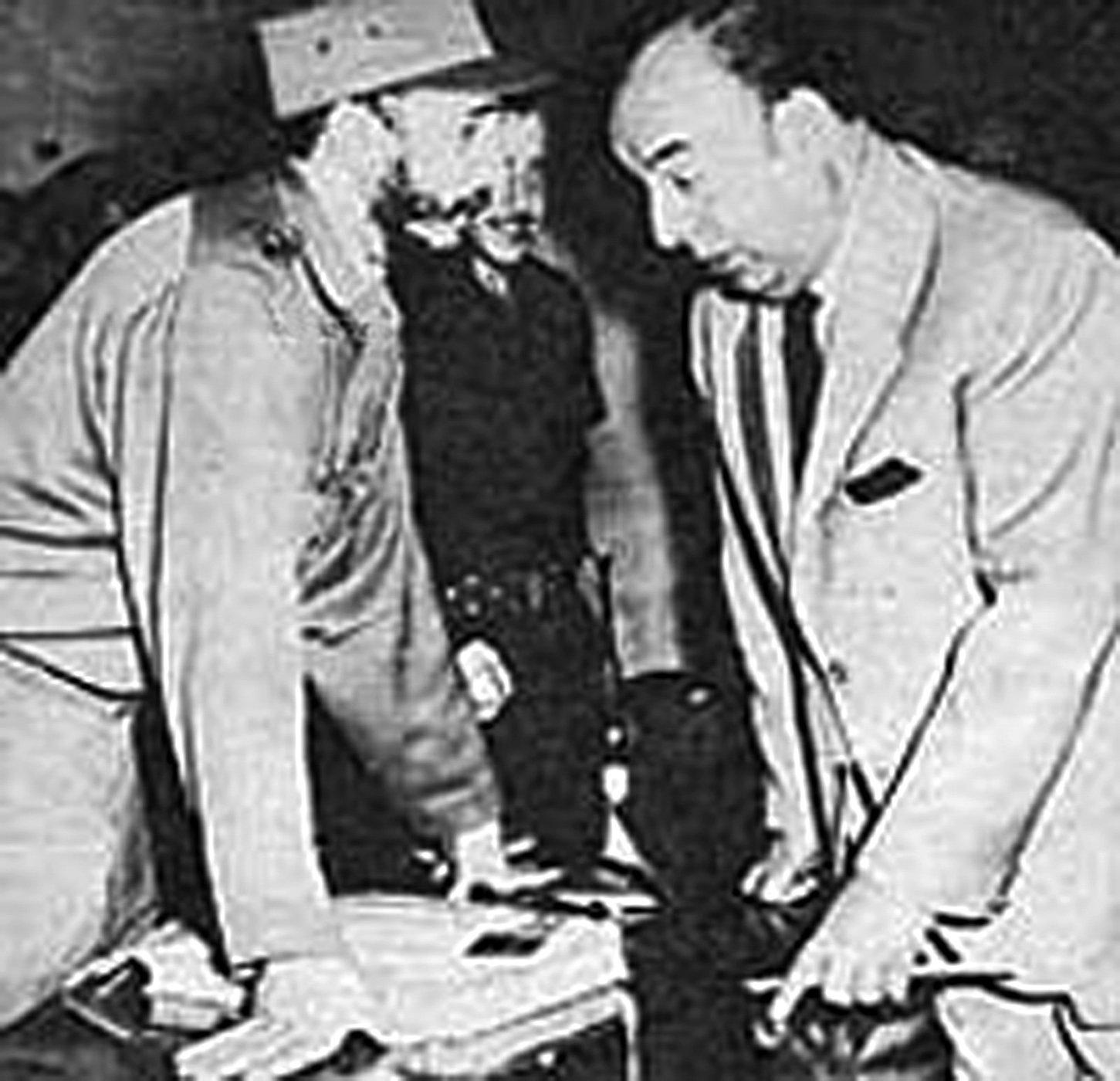Fidel Castro y Pablo Neruda