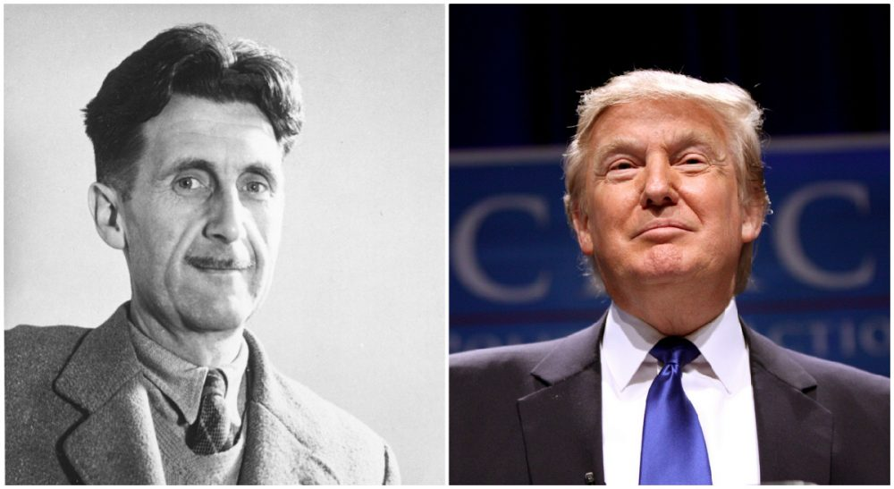 George Orwell y Donald Trump