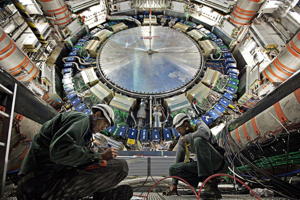 el CERN está dentro de un agujero gigantesco