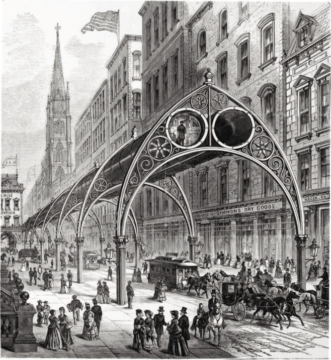 Hyperloop victoriano