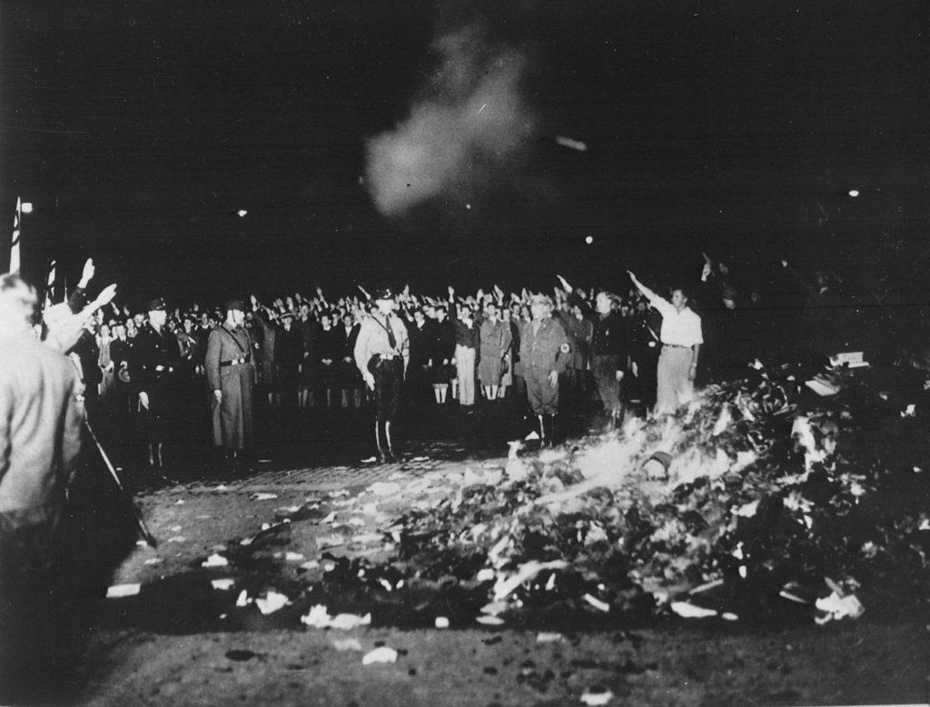 quema de libros