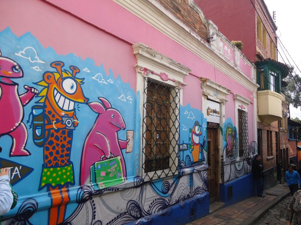 grafiti bogotá