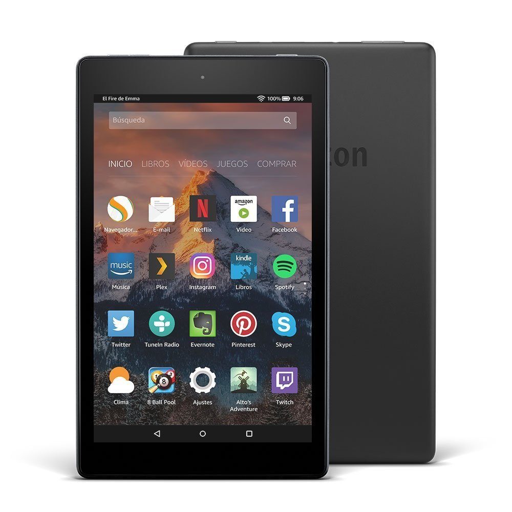 kindle tablet fire HD8