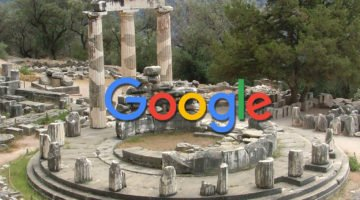motores de búsqueda google oráculo de delfos