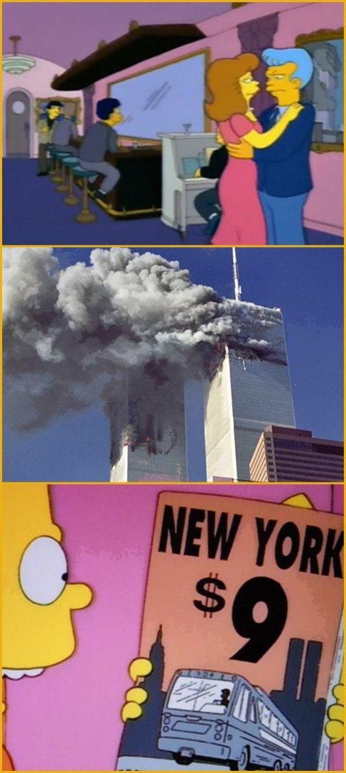 Las mayores predicciones de los Simpsons