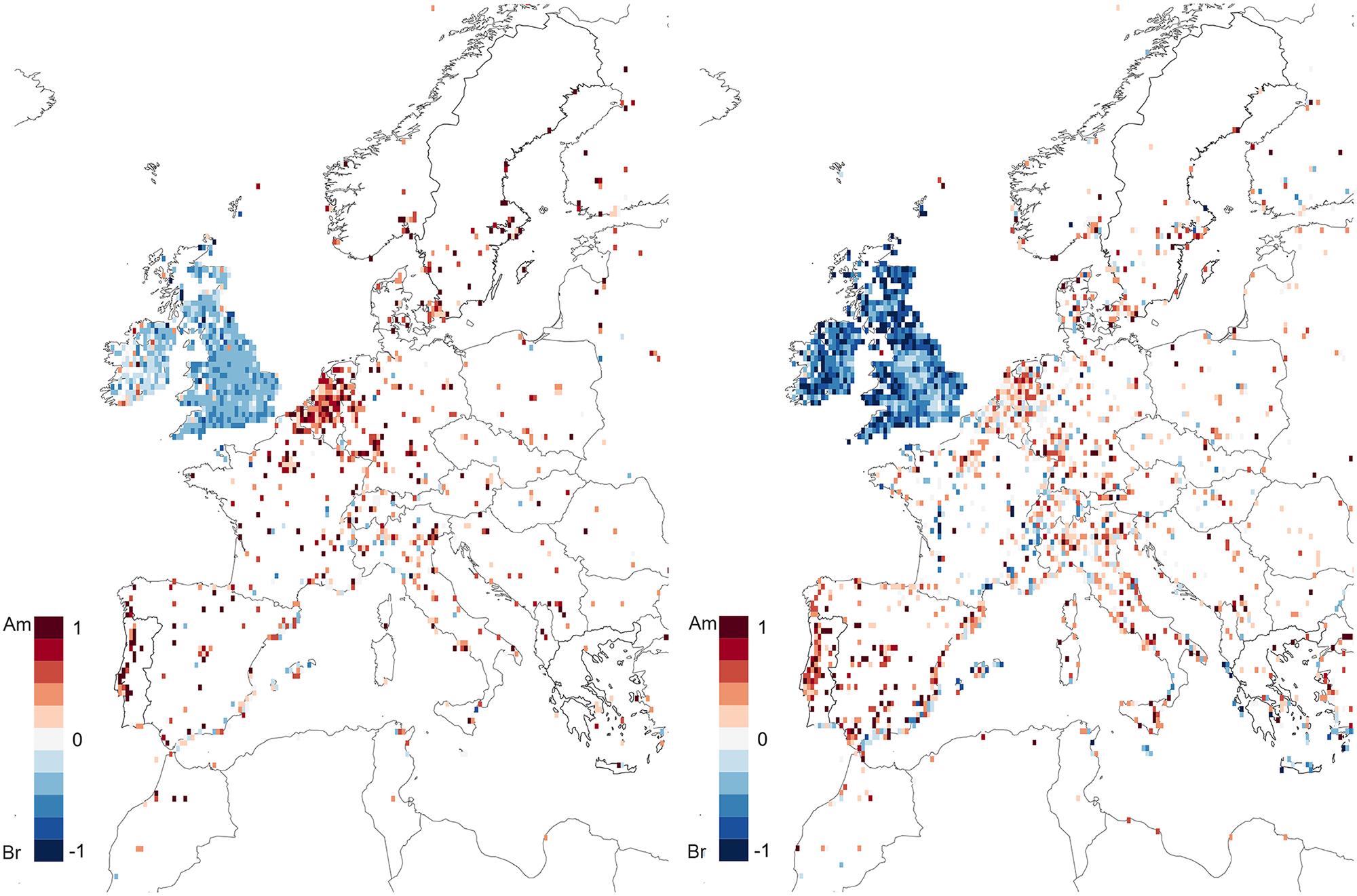 Vocabulario y ortografía y polarización en Europa