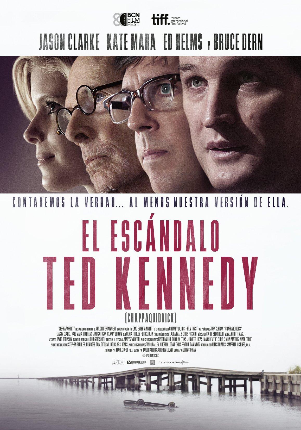 el-escándalo-Ted-Kennedy-Jason-Clarke-Kate-Mara