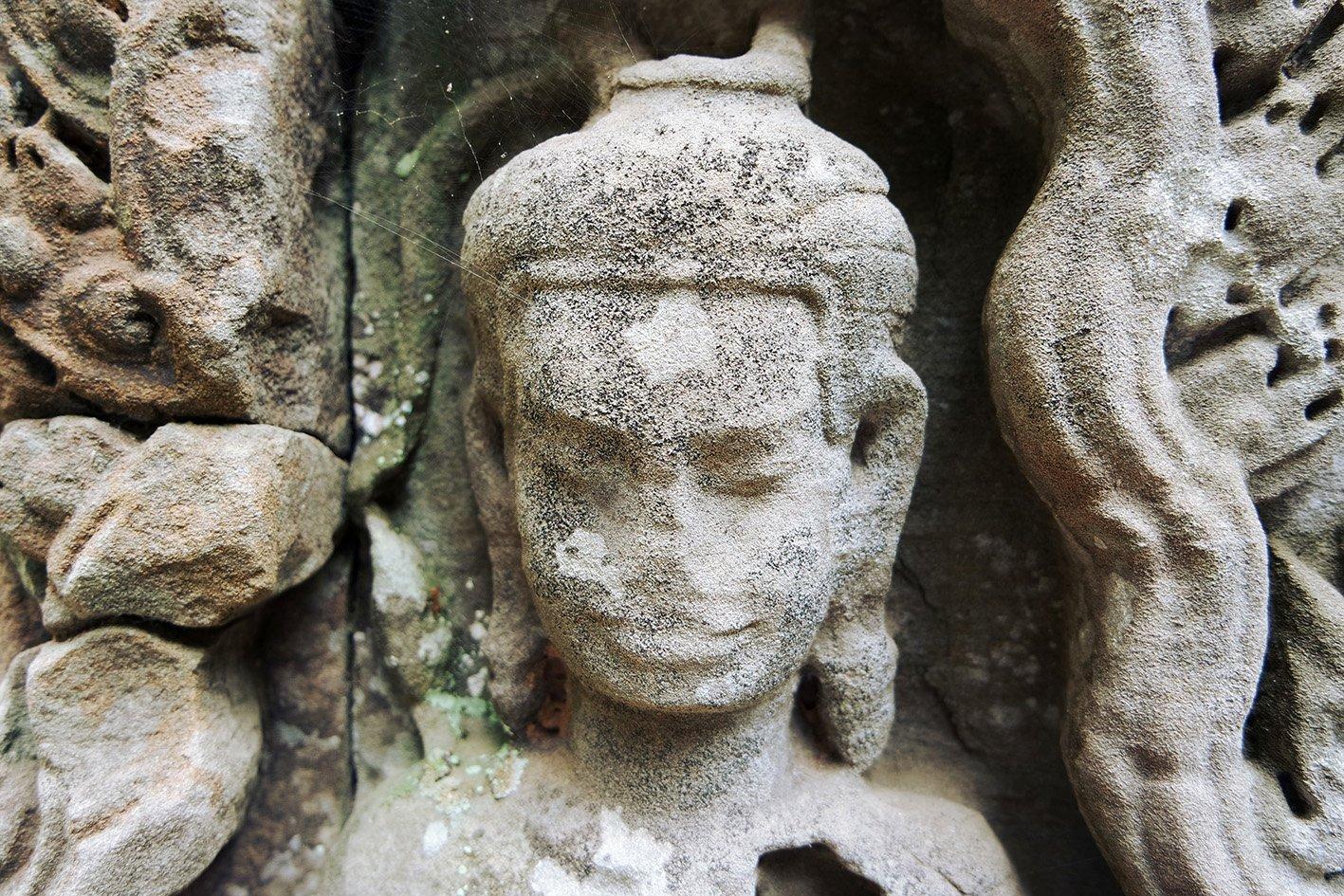 estatuas pierden nariz con el tiempo piedra