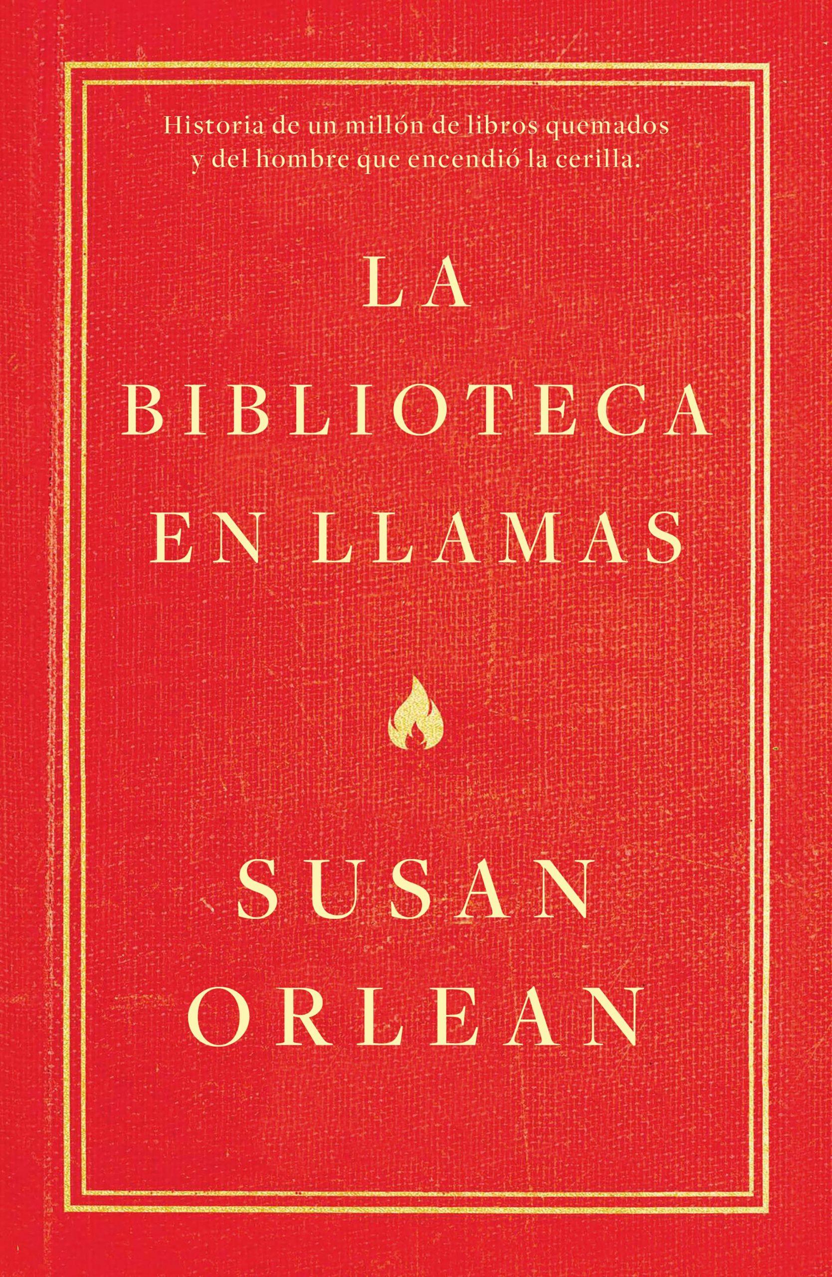 La biblioteca en llamas, de Susan Orlean - La piedra de Sísifo