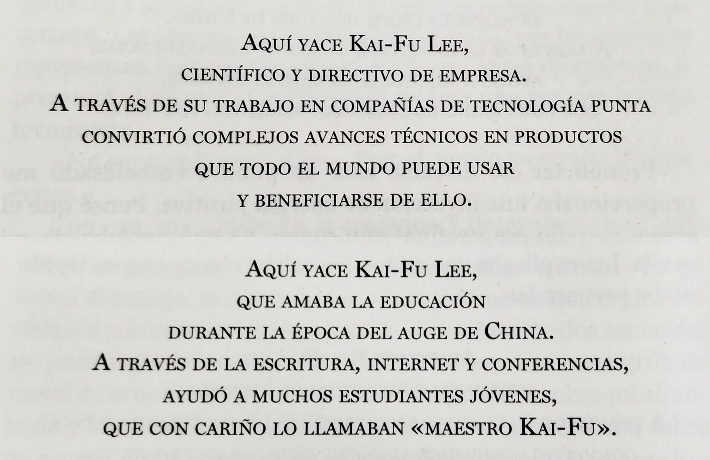kai-fu lee superpotencias de la inteligencia artificial