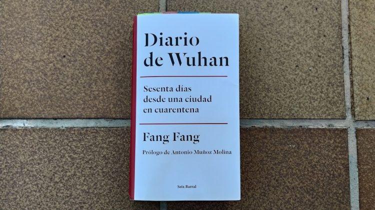 portada del libro 'Diario de Wuhan' (2020) de Fang Fang