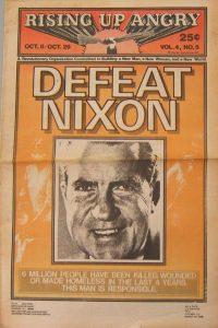 El periódico del movimiento Rising Up Angry se editaba mensualmente entre 1969 y 1975