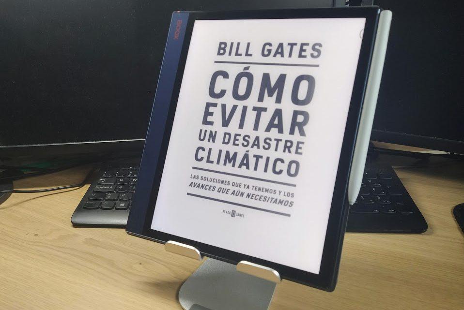 como evitar un desastre climatico bill gates